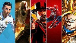 Los 50 videojuegos más vendidos