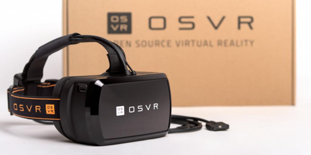 Prestan los nuevos OSVR lentes de realidad virtual