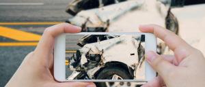 Categorías de accidente en un auto