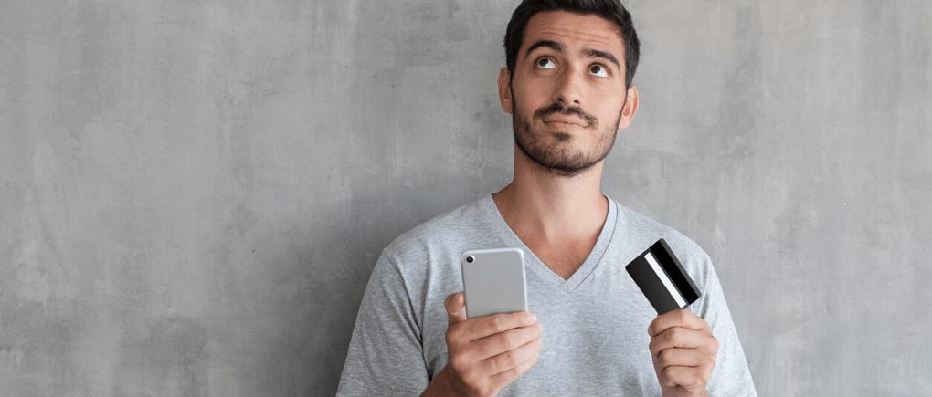 Inconvenientes al pagar con tarjeta crédito