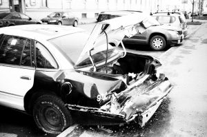 accidente de un automóvil