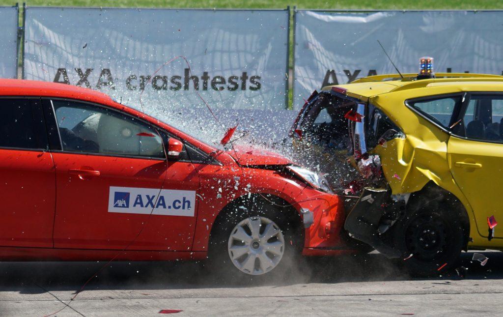Accidente de automóviles